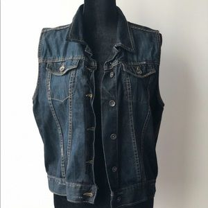 Denim vest by LAB